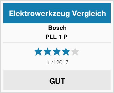 Bosch PLL 1 P  Test