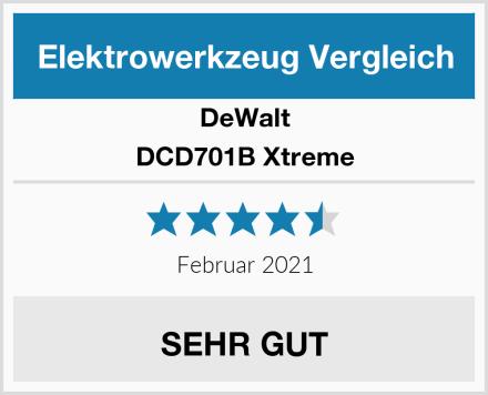 DeWalt DCD701B Xtreme Test