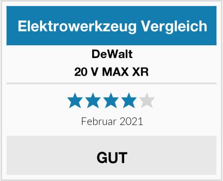 DeWalt 20 V MAX XR Test