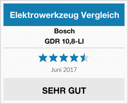 Bosch GDR 10,8-LI Test