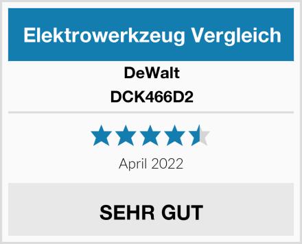 DeWalt DCK466D2 Test