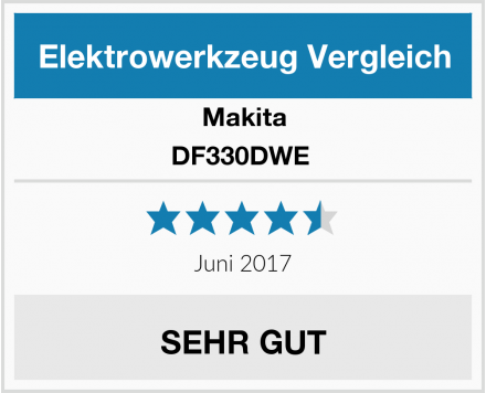 Makita DF330DWE  Test