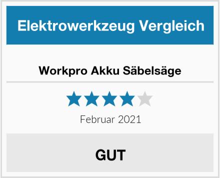 Workpro Akku Säbelsäge Test