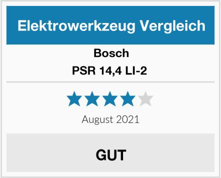Bosch PSR 14,4 LI-2  Test