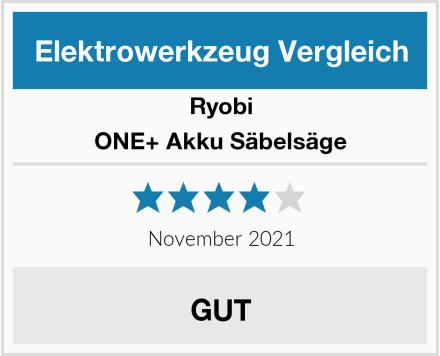Ryobi ONE+ Akku Säbelsäge Test