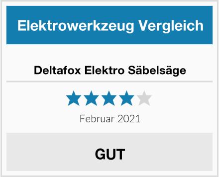 Deltafox Elektro Säbelsäge Test