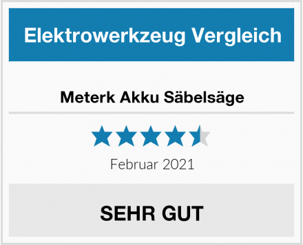 Meterk Akku Säbelsäge Test