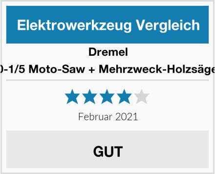 Dremel MS20-1/5 Moto-Saw + Mehrzweck-Holzsägeblatt Test