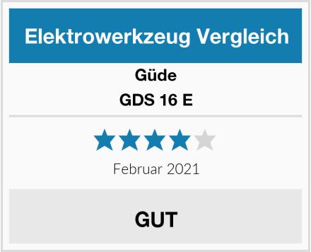 Güde GDS 16 E Test
