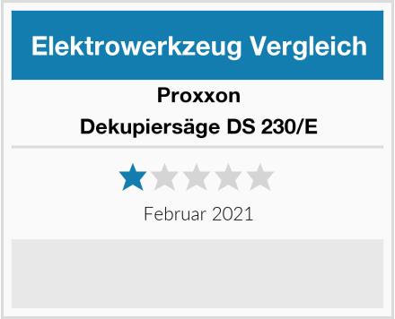 Proxxon Dekupiersäge DS 230/E Test