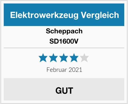 Scheppach SD1600V Test