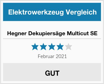 Hegner Dekupiersäge Multicut SE Test