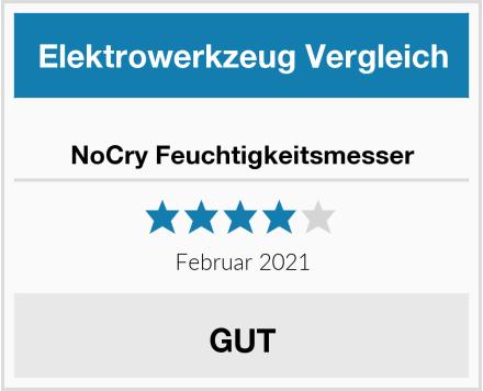 NoCry Feuchtigkeitsmesser Test