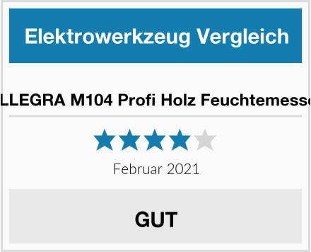 ALLEGRA M104 Profi Holz Feuchtemesser Test