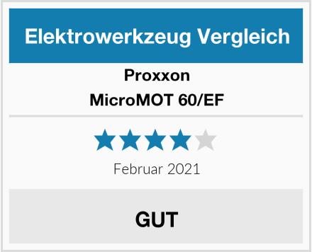Proxxon MicroMOT 60/EF Test