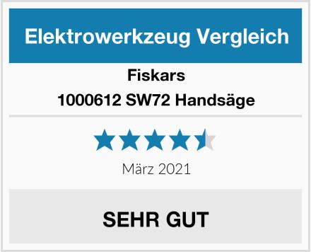 Fiskars 1000612 SW72 Handsäge Test