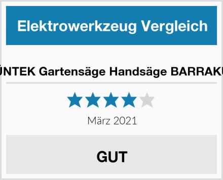 GRÜNTEK Gartensäge Handsäge BARRAKUDA Test