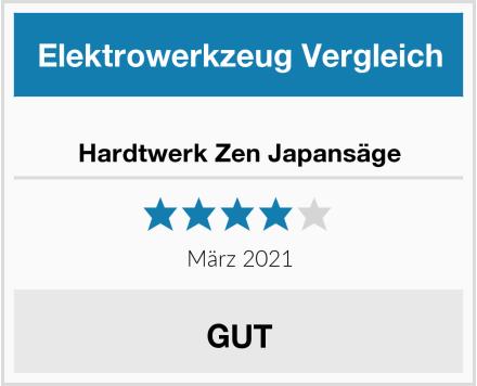 Hardtwerk Zen Japansäge Test