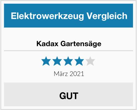 Kadax Gartensäge Test