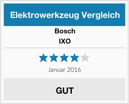 Bosch IXO Test