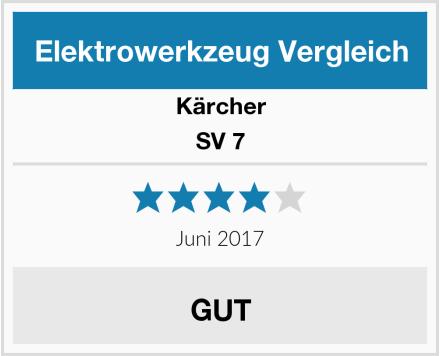 Kärcher SV 7 Test