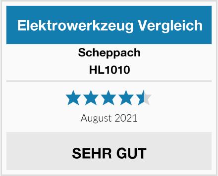Scheppach HL1010 Test