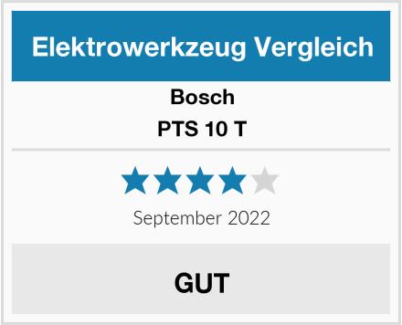 Bosch PTS 10 T Test