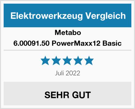 Metabo 6.00091.50 PowerMaxx12 Basic Test