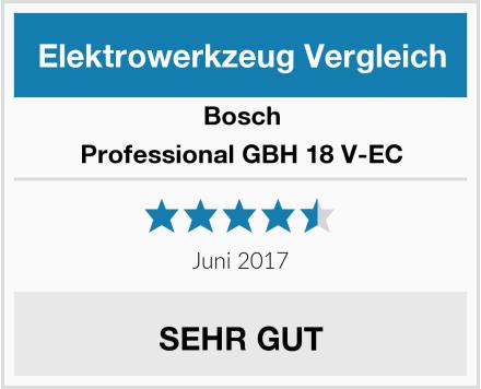 Bosch Professional GBH 18 V-EC Test