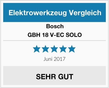 Bosch GBH 18 V-EC SOLO Test