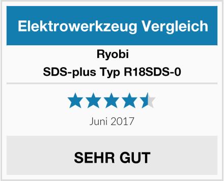 Ryobi SDS-plus Typ R18SDS-0 Test