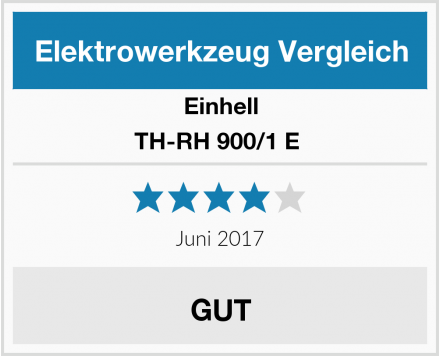 Einhell TH-RH 900/1 E  Test