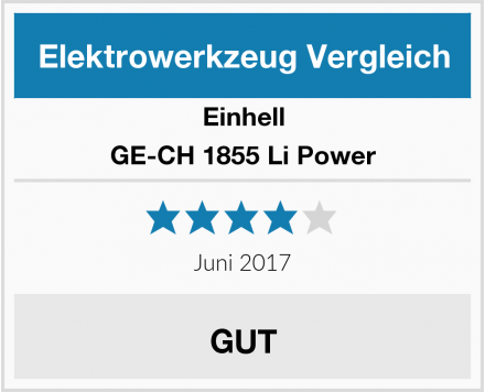 Einhell GE-CH 1855 Li Power Test