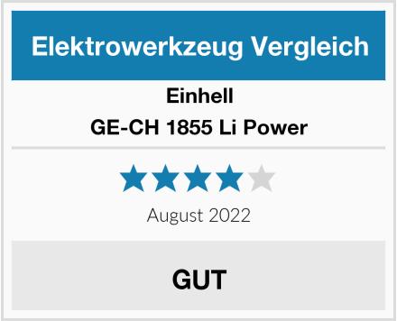 Einhell GE-CH 1855 Li Power Test