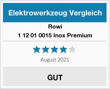 Rowi 1 12 01 0015 Inox Premium Test