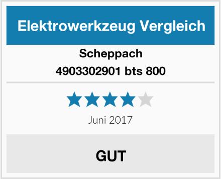 Scheppach 4903302901 bts 800 Test
