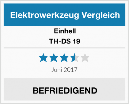 Einhell TH-DS 19 Test