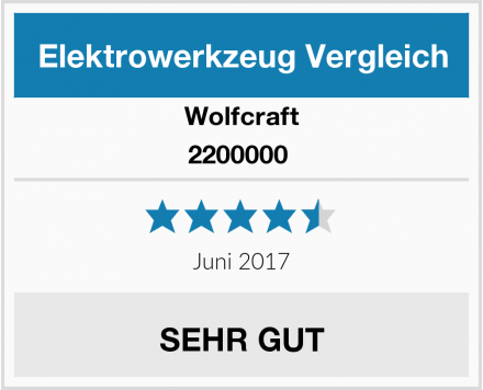 Wolfcraft 2200000  Test
