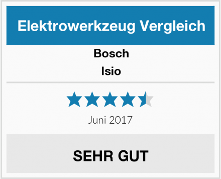 Bosch Isio Test