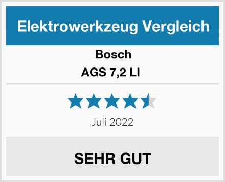 Bosch AGS 7,2 LI  Test