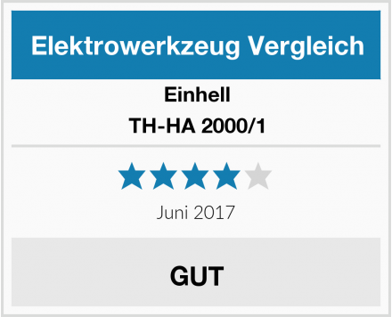 Einhell TH-HA 2000/1 Test