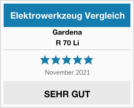 Gardena R 70 Li Test