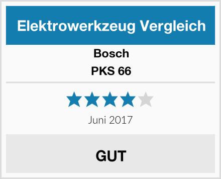 Bosch PKS 66 Test