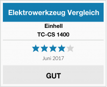 Einhell TC-CS 1400 Test