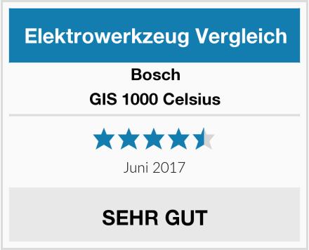 Bosch GIS 1000 Celsius Test
