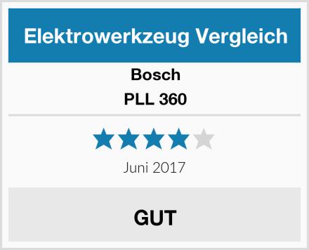 Bosch PLL 360 Test
