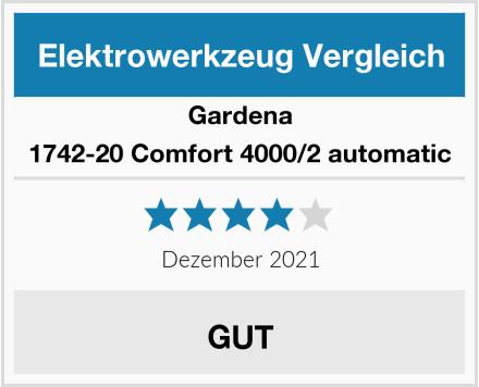 Gardena 1742-20 Comfort 4000/2 automatic Test