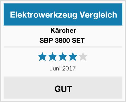 Kärcher SBP 3800 SET  Test