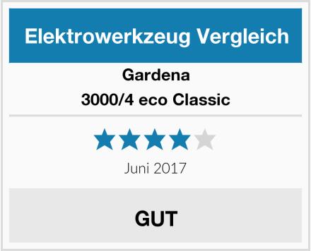 Gardena 3000/4 eco Classic Test