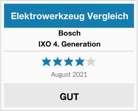 Bosch IXO 4. Generation Test